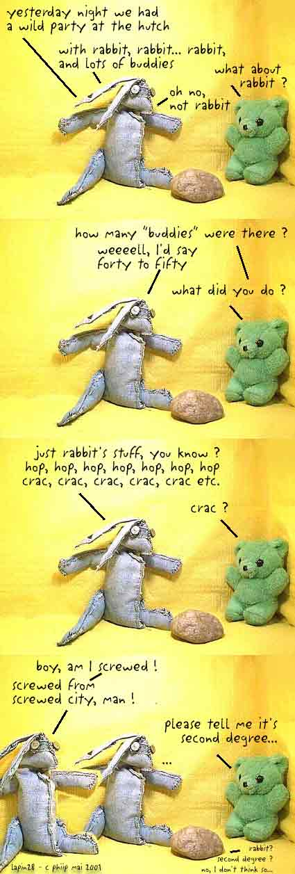 rabbit, episode 28